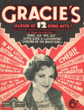 GRACIE FIELDS 12 SONG HITS - Music Album Download